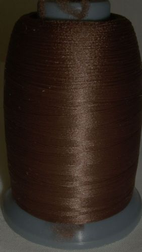 Woolly Nylon Overlocker  Machine Sewing Thread Chestnut BLB03.210
